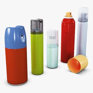 3D spray volume 1 industry model