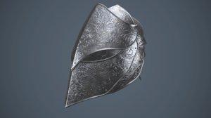 3D fantasy helmet
