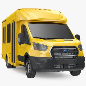 3D starlite shuttle bus simple