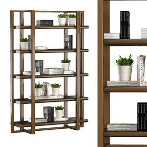 library 4225 16 3D model