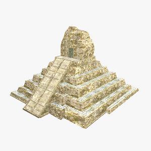 3D - mayan building
