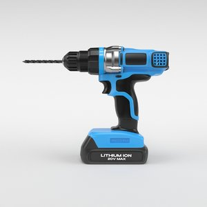 3D drill screwdriver
