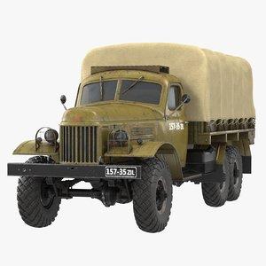 zil-157 zil 3D model