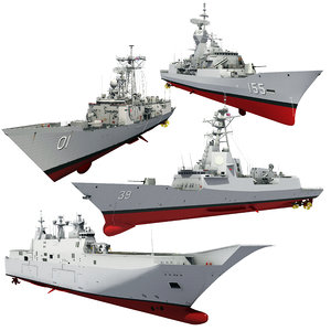 royal australian navy 3D model