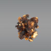 Aerial Explosion 04  - VDB