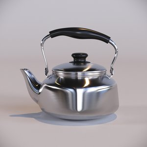 sori yanagi kettle 3D model