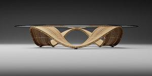 furniture vito selma baud 3D