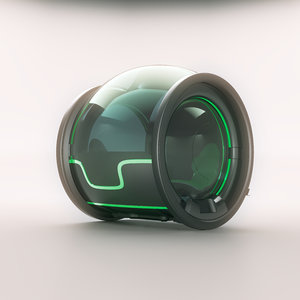 3D electric taxy concept