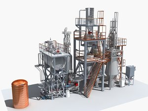 mechanical equipment 3D model