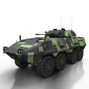 3D armored personnel carrier cm-33