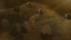 burrow - mud homes 3D model