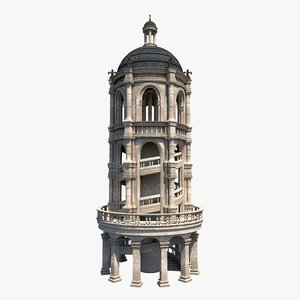 architecture build 3D