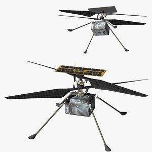 mars helicopter ingenuity 3D