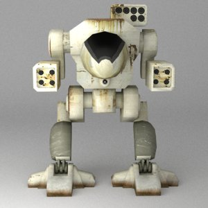 mechwarrior warrior mech max