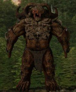 3D monster beast