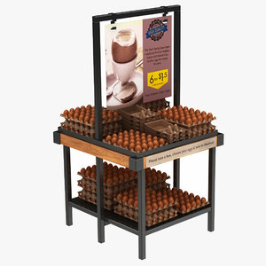 3D egg display stand