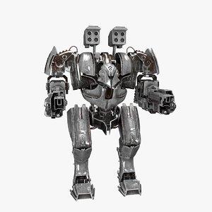 plasma robot rigged model