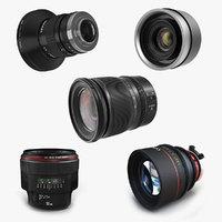 Camera Lenses Collection 3