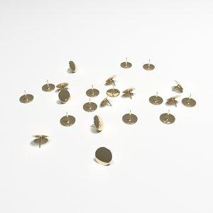 drawing pins tacks model