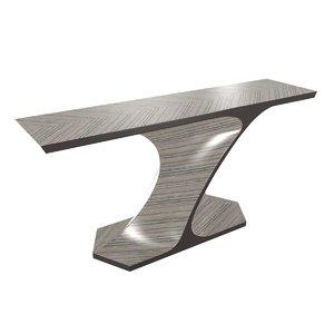 3D console table art interiors model