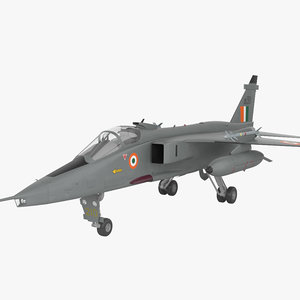 sepecat aviation plane 3D