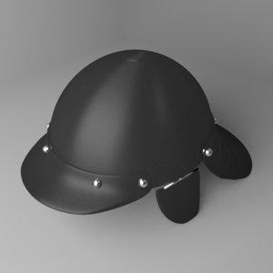 zischagge helmet 3D model