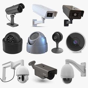 cctv cameras 6 3D model