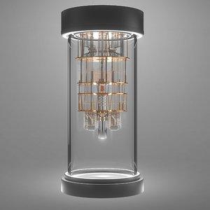 quantum computer 3D model