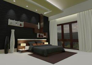3D realistic room