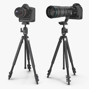 3D dslr cameras zoom tripod