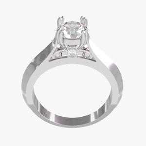 3D ring engagement model