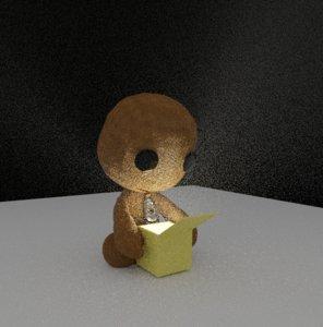 sackboy littlebigplanet 3D model