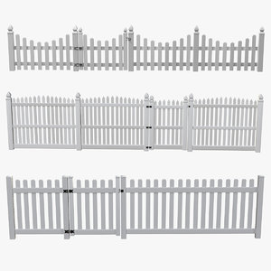 3D fence sections