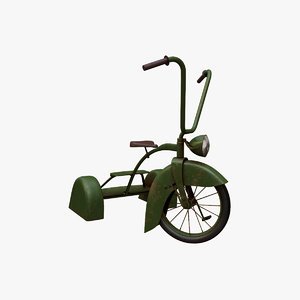 tricycle v2 3D model