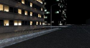 street sidewalk 3D model