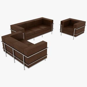 le corbusier sofas chair model