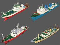Collection of Scientific Research Ships