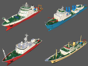3D scientific research ships