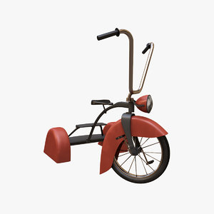 tricycle v3 3D model