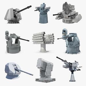 deck guns 3 3D