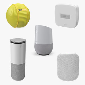 home assistants 3D