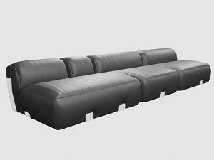 vicenzo cotiis dc0705a sofa 3D model