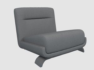 vicenzo cotiis dc103a lounge chair 3D