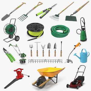 3D garden tools 7