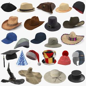 3D hats 7
