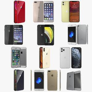 3D iphone phones 4 model