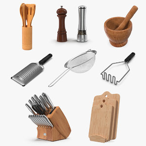 3D kitchenware 4 kitchen