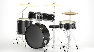 3D acoustic drum