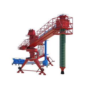 3D dockside cargo crane