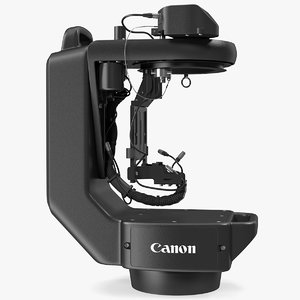 3D model robotic camera canon cr